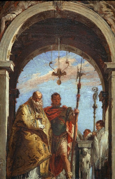 Двое святых. Джованни Баттиста Тьеполо