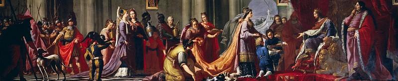The Queen of Sheba before King Solomon. Giovanni Battista Tiepolo