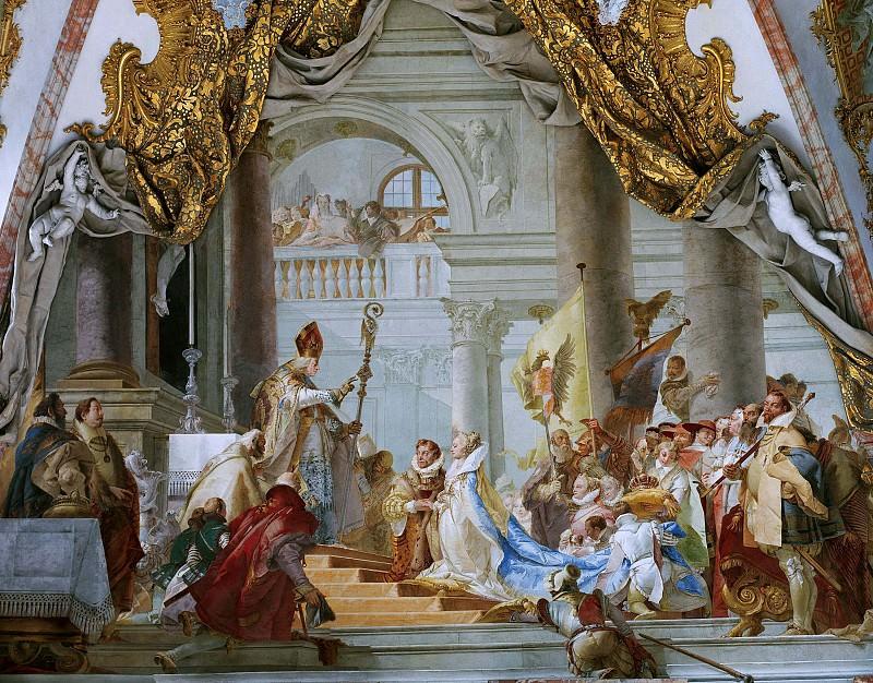 The Marriage of the Emperor Frederick Barbarossa to Beatrice of Burgundy. Giovanni Battista Tiepolo