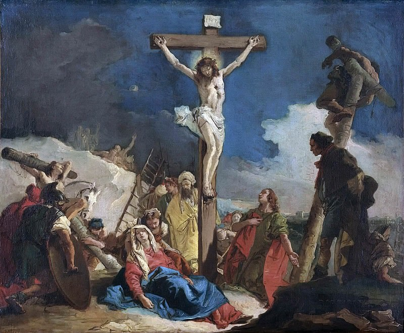 Golgotha. Giovanni Battista Tiepolo