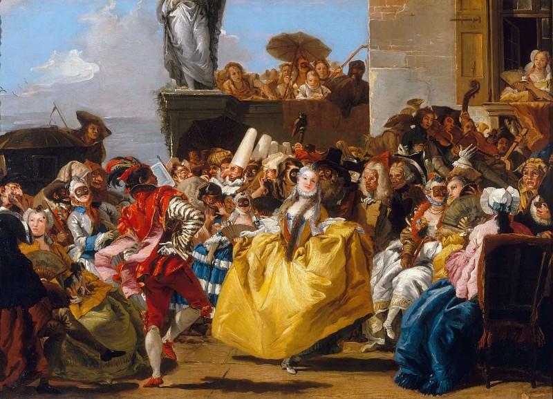 Minuet. Giovanni Battista Tiepolo