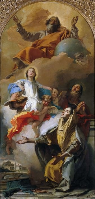 Видение святой Анны. Джованни Баттиста Тьеполо