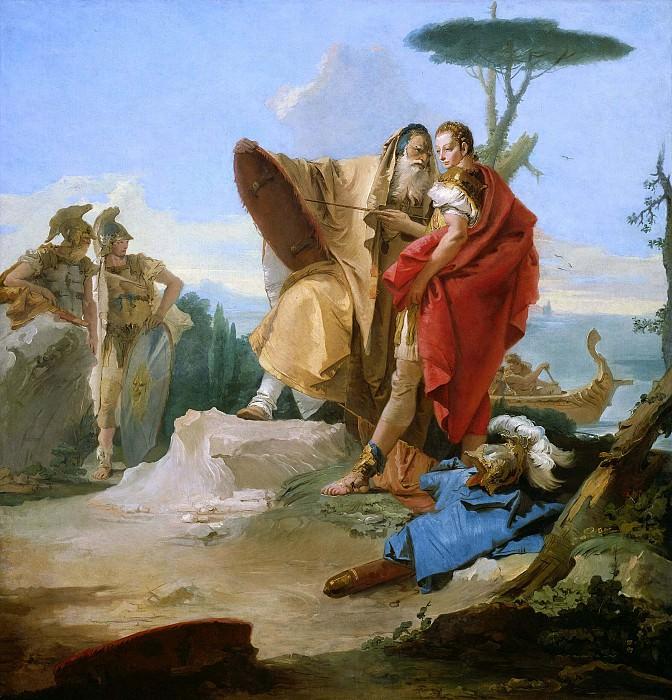 Rinaldo and the Magus of Ascalon. Giovanni Battista Tiepolo