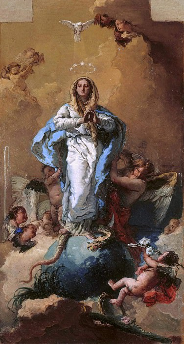 Immaculate Conception. Giovanni Battista Tiepolo