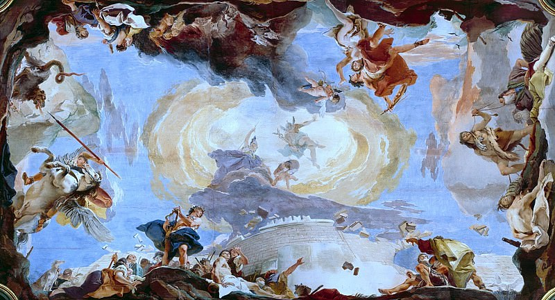 The force of eloquence. Giovanni Battista Tiepolo