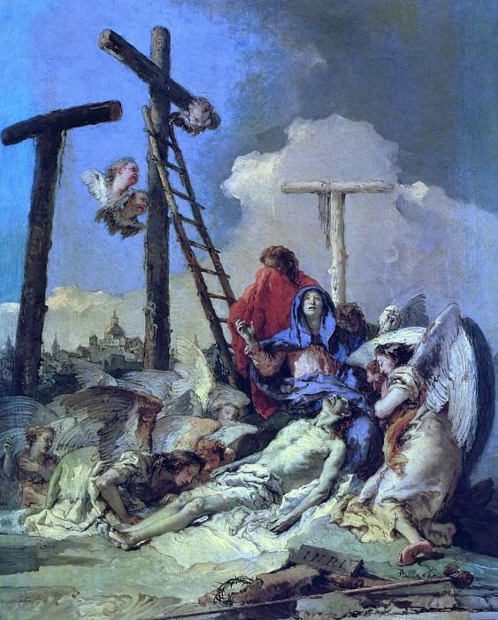 Снятие с креста. Джованни Баттиста Тьеполо