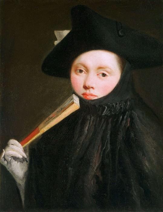 Девушка в треуголке. Джованни Баттиста Тьеполо