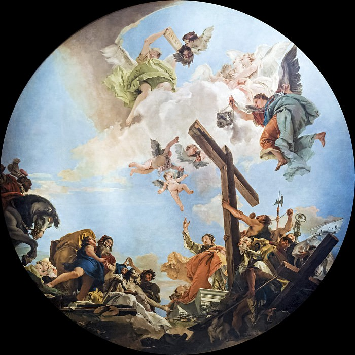 Discovery of the True Cross. Giovanni Battista Tiepolo