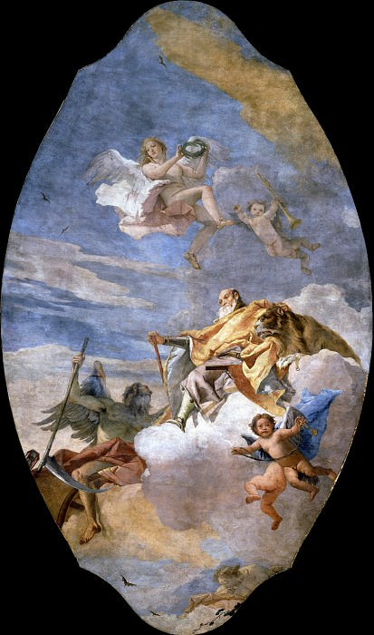 Glorification of a Member of the Porto Family. Giovanni Battista Tiepolo