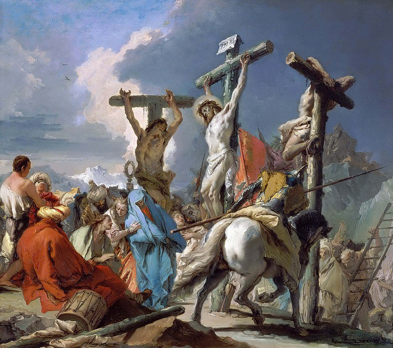 The Crucifixion. Giovanni Battista Tiepolo