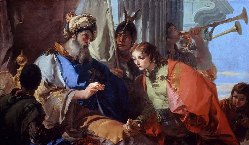 Joseph receives the pharaohs ring. Giovanni Battista Tiepolo