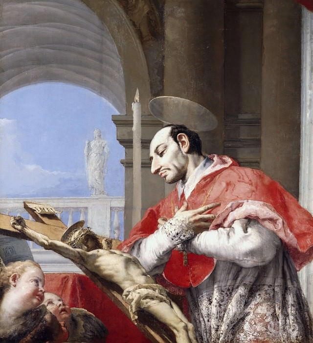 Saint Charles Borromeo. Giovanni Battista Tiepolo