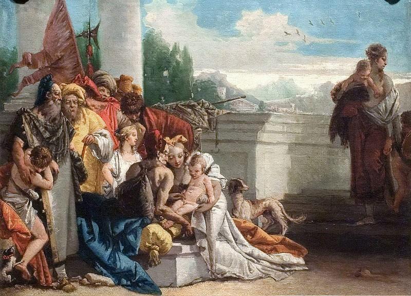 The Circumcision of the Children of Israel. Giovanni Battista Tiepolo (Studio)