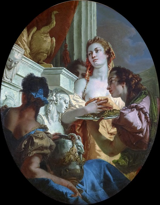 Roman Matrons Making Offerings to Juno. Giovanni Battista Tiepolo