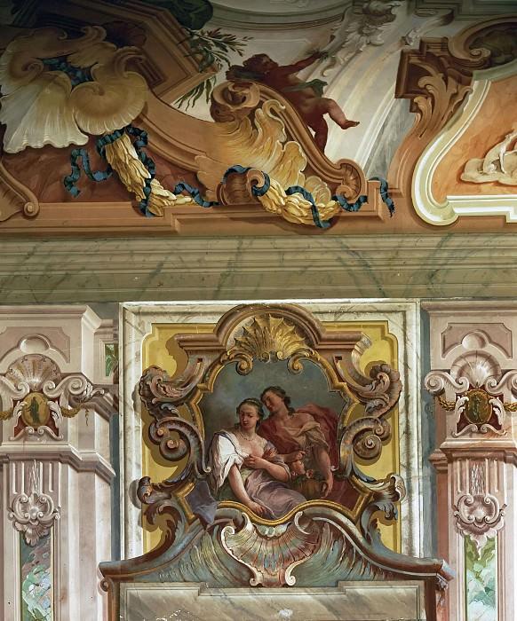 The Apotheosis of the Pisani Family (detail). Giovanni Battista Tiepolo