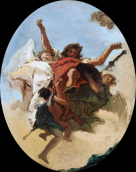 The Apotheosis of Saint Roch. Giovanni Battista Tiepolo