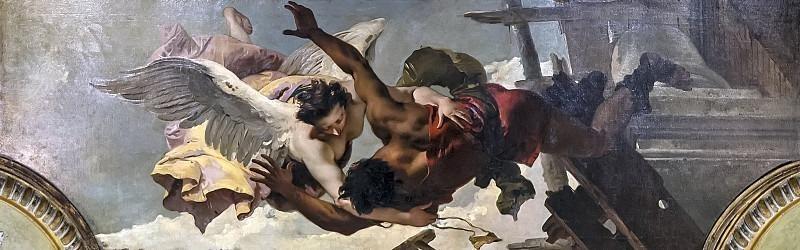 Спасение ангелом мальчика. Джованни Баттиста Тьеполо