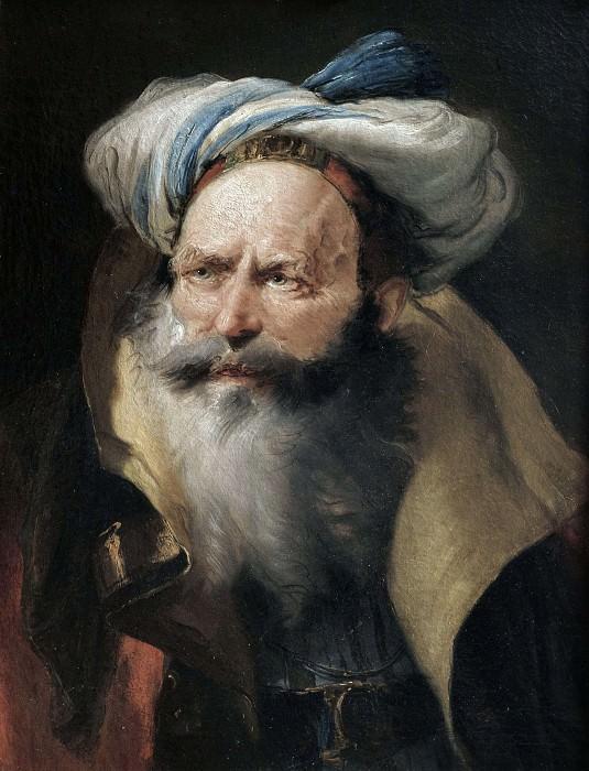 Портрет мужчины в восточном одеянии. Джованни Баттиста Тьеполо