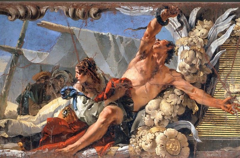 The raising of the bronze snake. Giovanni Battista Tiepolo