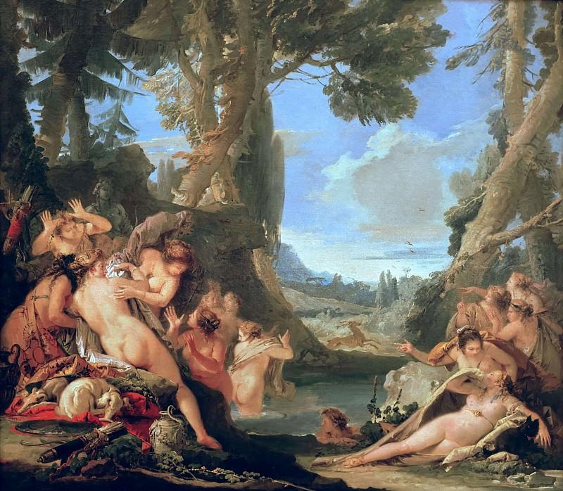 The Bath of Diana. Giovanni Battista Tiepolo