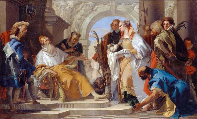 Святой из семейства Кротта. Джованни Баттиста Тьеполо