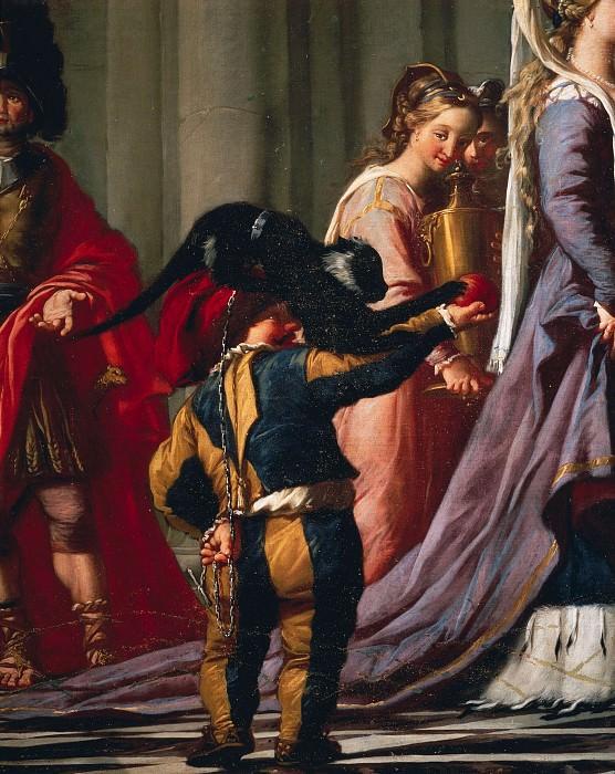 The Queen of Sheba before King Solomon, detail. Giovanni Battista Tiepolo