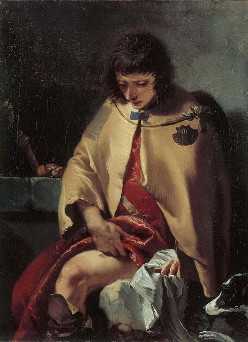 Saint Roch. Giovanni Battista Tiepolo