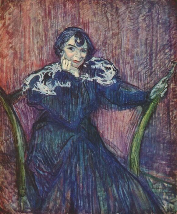 lautrec berthe bady 1897. Henri De Toulouse-Lautrec