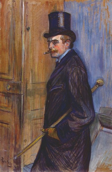 lautrec monsieur louis pascal 1891. Henri De Toulouse-Lautrec