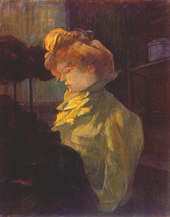 lautrec the modiste 1900. Henri De Toulouse-Lautrec