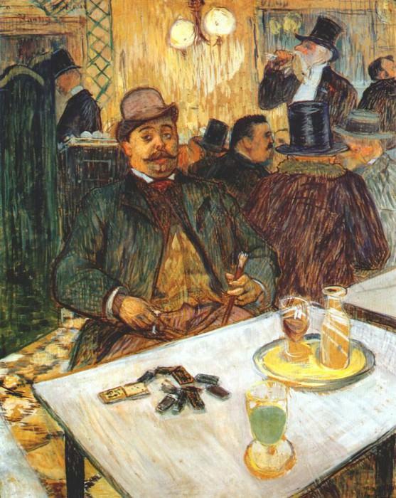 lautrec monsieur boileau 1893. Henri De Toulouse-Lautrec