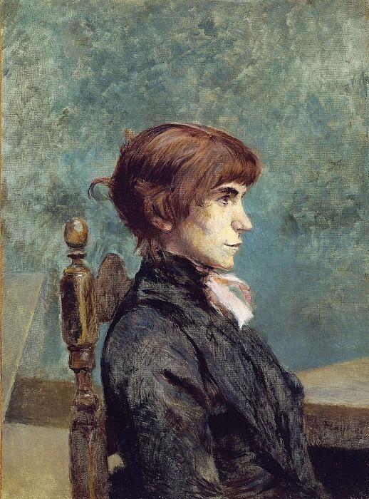 lautrec jeanne wenz 1886. Henri De Toulouse-Lautrec