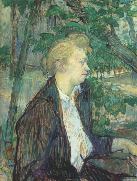 lautrec gabrielle 1891. Henri De Toulouse-Lautrec