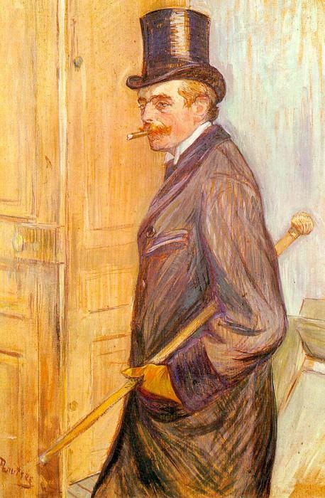 Toulouse-Lautrec Louis Pascal, 1891, oil on board, Musee Tou. Henri De Toulouse-Lautrec