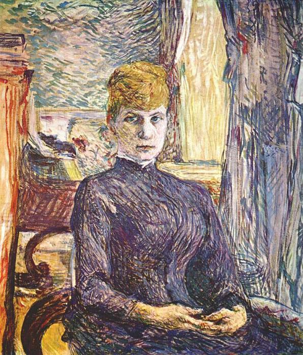 lautrec juliette pascal 1887. Henri De Toulouse-Lautrec
