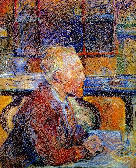Toulouse-Lautrec de Henri Vincent van Gogh Sun. Henri De Toulouse-Lautrec