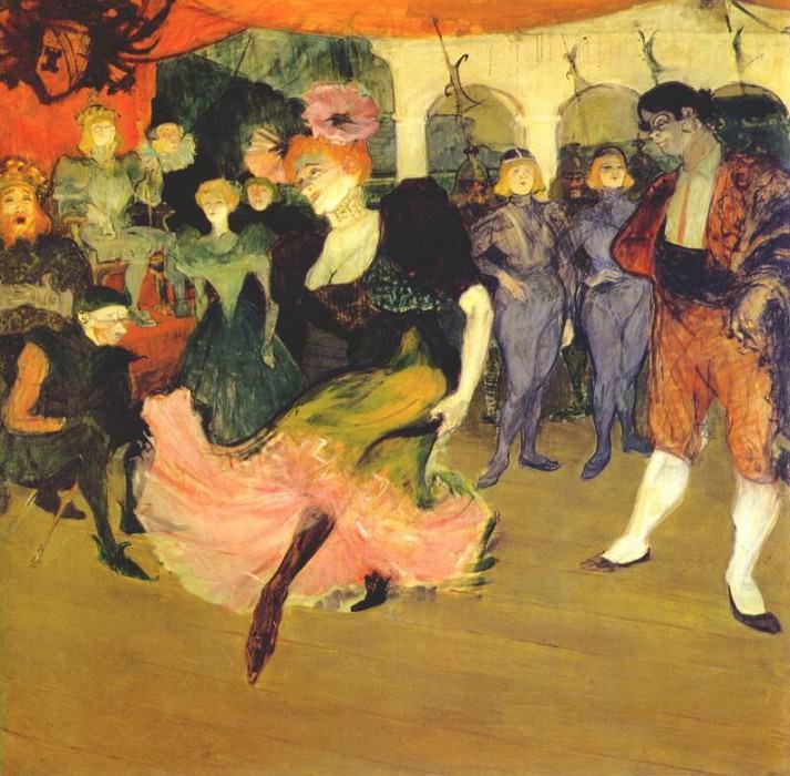 lautrec marcelle lender doing the bolero in chilperic 1895. Henri De Toulouse-Lautrec