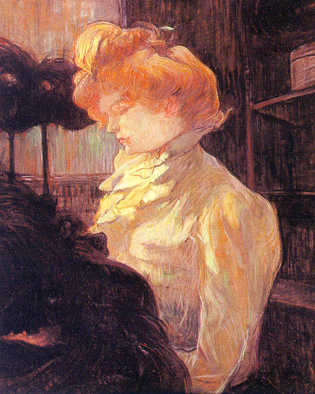 Toulouse-Lautrec The Milliner, 1900, oil on board, Musee Tou. Анри де Тулуз-Лотрек