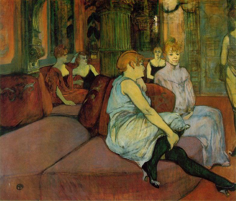 rue-des-moulins. Henri De Toulouse-Lautrec