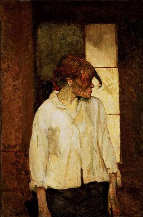 Toulouse-Lautrec Rosa la Rouge, 1886-87, Barnes foundation. Henri De Toulouse-Lautrec