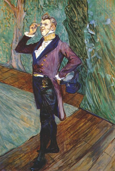 lautrec the actor henry samary 1889. Henri De Toulouse-Lautrec