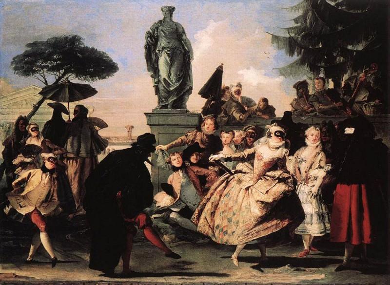 TIEPOLO Giovanni Domenico Minuet. Giovanni Domenico Tiepolo