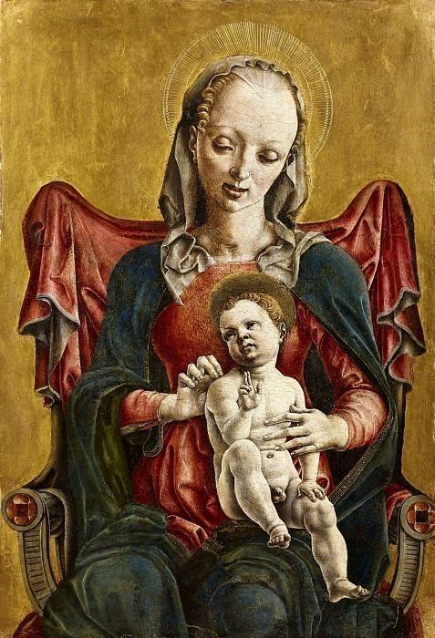 Мадонна с младенцем. Козимо Тура