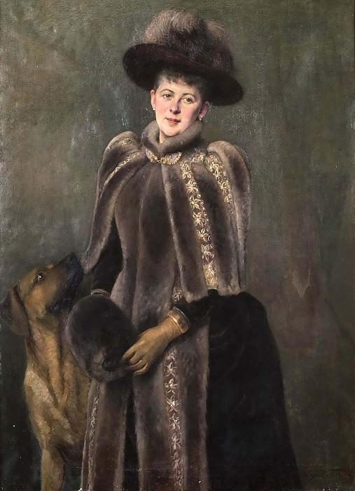Beate Rosencrantz (1855-1925), g.m. Patrick Baron Seton. Hildegard Thorell