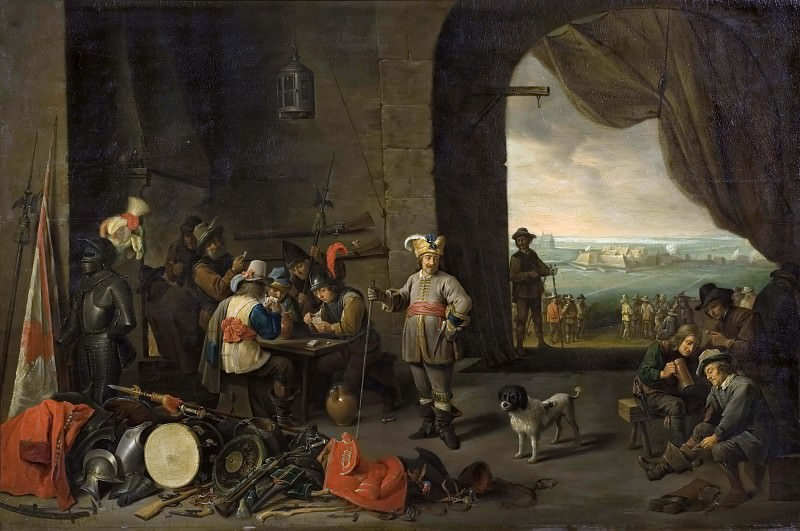 Guards of a Camp. David II Teniers (After)