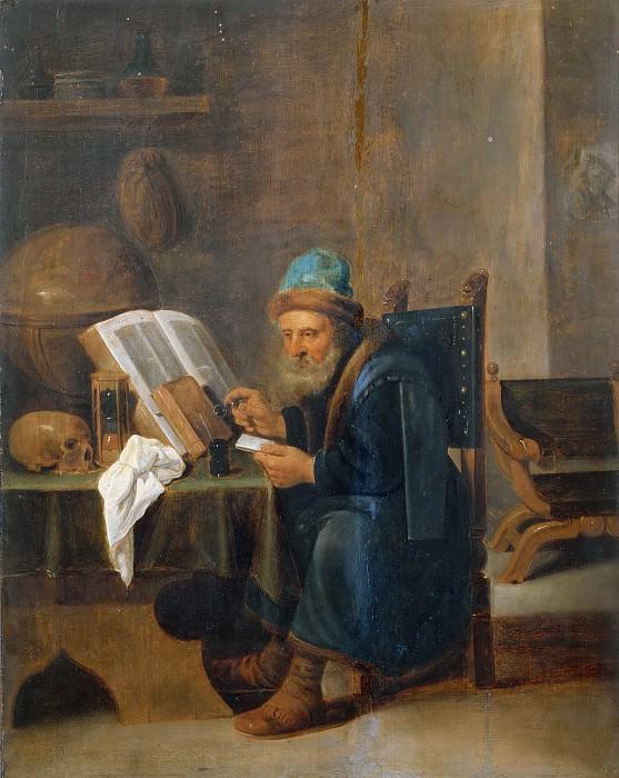 Учёный. Дэвид II Тенирс