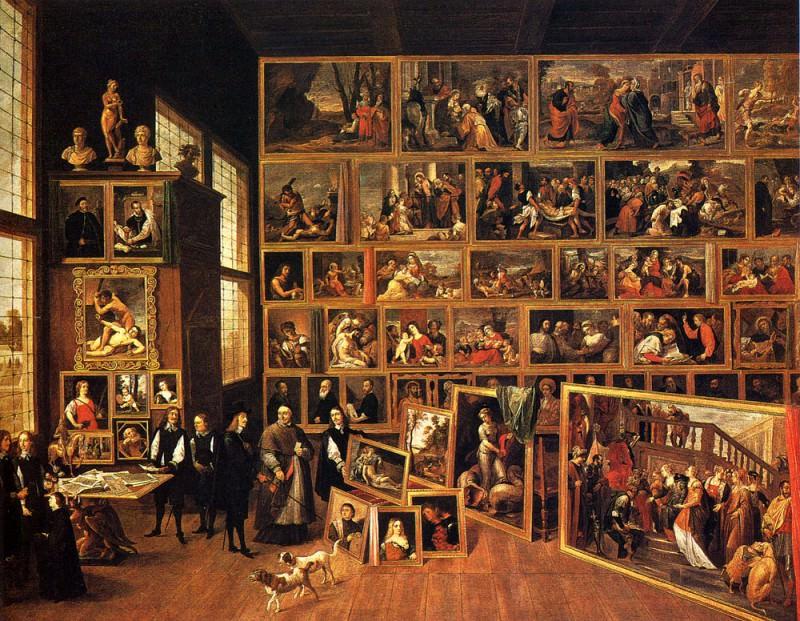 Teniers The Younger David The Archduke Leopold Wilhelm s Studio. David II Teniers