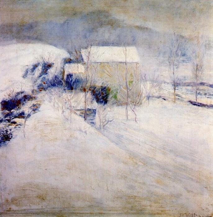 twachtman snow late-1890s. John Henry Twachtmann