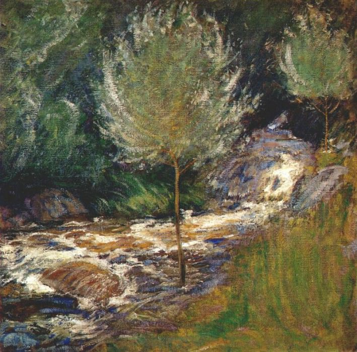 twachtman horseneck falls, greenwich, connecticut c1890-1900. John Henry Twachtmann