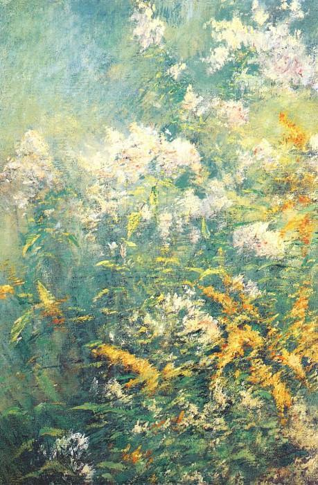 twachtman meadow flowers early-1890s. John Henry Twachtmann